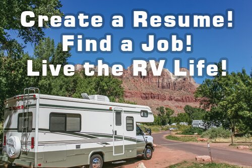 find a work camper job